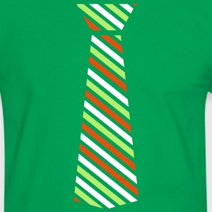 st.patty's day tie Men's Ringer Shirt - Men's Ringer Shirt