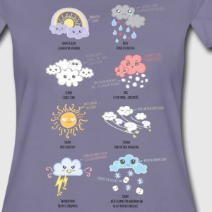 Weather Kawaii - Frauen Premium T-Shirt