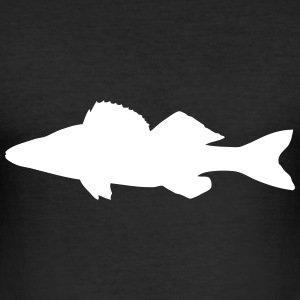 Zander - Fisch - Fish T-Shirts - Männer Slim Fit T-Shirt
