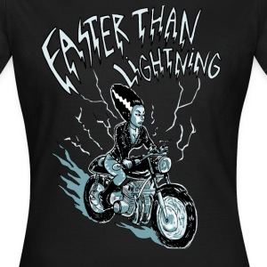 faster than lightning - Frauen T-Shirt