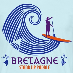 STAND UP PADDLE - BZH BREIZH BRETAGNE - T-shirt Homme