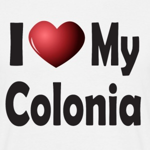 I Love My Colonia (Cologne) T-Shirts - Men's T-Shirt