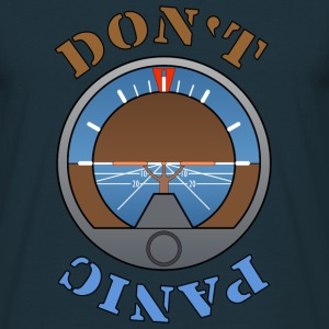 Dont Panic T-shirts - Herre-T-shirt