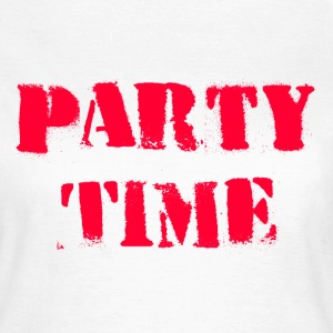 Party Time red T-Shirts - Women's T-Shirt