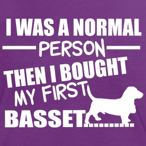 Normal Person - Basset Tee shirts - T-shirt contraste Femme