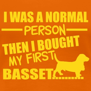 Normal Person - Basset T-Shirts - Frauen Premium T-Shirt