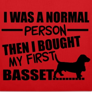 Normal Person - Basset Sacs et sacs à dos - Tote Bag