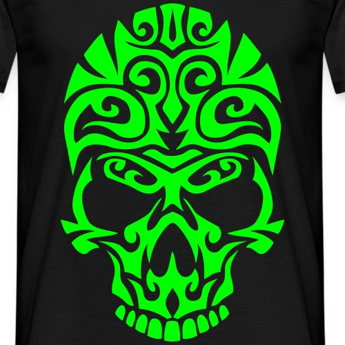 tete mort tetemort tribal skull dead hea