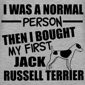 Normal Person -Jack RussellTerrier Tröjor - Premiumluvtröja dam