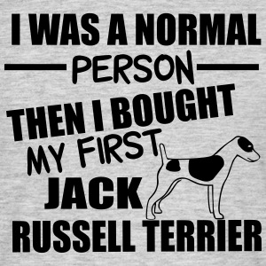 Normal Person -Jack RussellTerrier T-Shirts - Men's T-Shirt