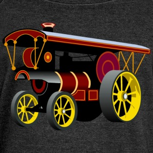 Traction Engines - Women's Boat Neck Long Sleeve Top