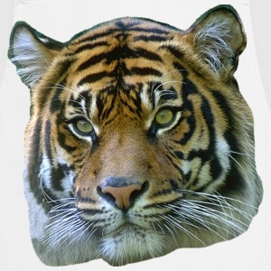 Tiger Head Mens T-Shirt - Cooking Apron