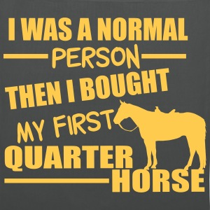 Normal Person - Quarter Horse Bags & Backpacks - Tote Bag