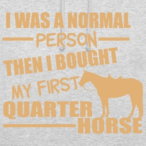 Normal Person - Quarter Horse Pullover & Hoodies - Unisex Hoodie