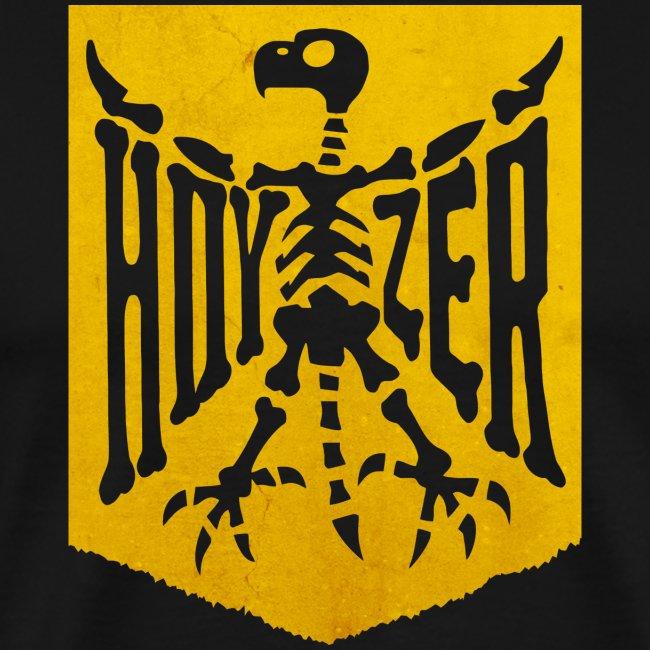 T-shirt i herrmodell Hoyzer Knochenmark