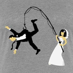 Bride Fishing A Husband (Stag Hen Party / PNG) T-Shirts - Women's Premium T-Shirt