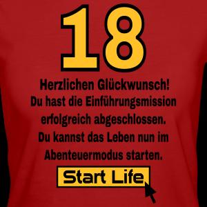 """Geburtstag T-Shirts mit """"18 Geburtstag Start Life"""""""