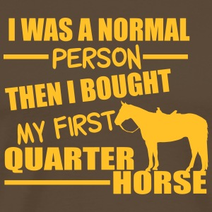 Normal Person - Quarter Horse Magliette - Maglietta Premium da uomo
