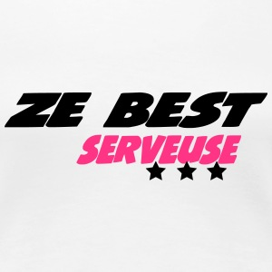 ZE best serveuse T-Shirts - Frauen Premium T-Shirt