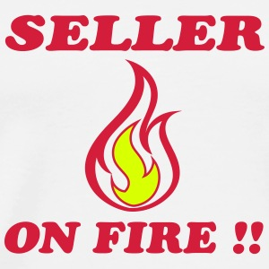 Seller on fire !! Camisetas - Camiseta premium hombre