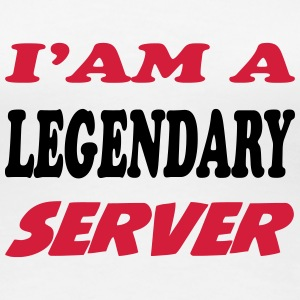 I'am a legendary server T-Shirts - Frauen Premium T-Shirt