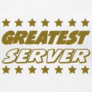 Greatest server T-Shirts - Frauen Premium T-Shirt