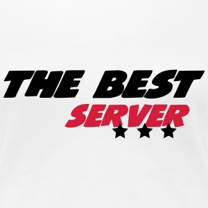 The best server T-Shirts - Frauen Premium T-Shirt