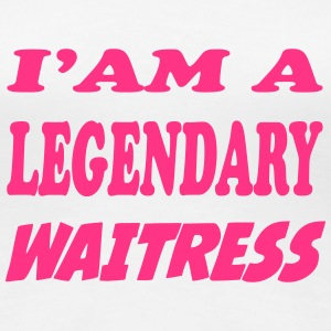 I'am a legendary waitress T-Shirts - Women's Premium T-Shirt