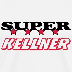 Super kellner T-Shirts - Men's Premium T-Shirt