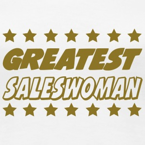 Greatest saleswoman T-Shirts - Women's Premium T-Shirt