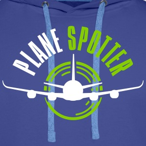Plane Spotter Sweat-shirts - Sweat-shirt à capuche Premium pour hommes