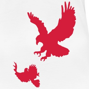 Attacking Eagle T-Shirts - Women's Premium T-Shirt