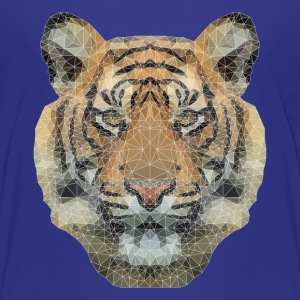 Polygon Tiger T-Shirts - Teenager Premium T-Shirt