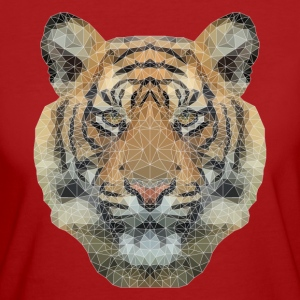 Polygon Tiger T-Shirts - Frauen Bio-T-Shirt