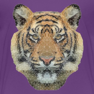 Polygon Tiger Shirts - Kids' Premium T-Shirt