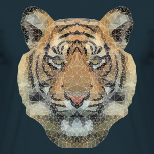 Polygon Tiger T-Shirts - Männer T-Shirt