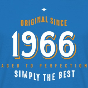 original since 1966 simply the best 50th birthday - Männer T-Shirt