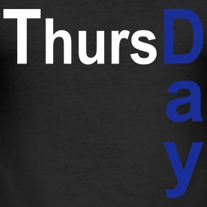 Thursday T-Shirts - Men's Slim Fit T-Shirt