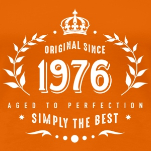 original since 1976 simply the best 40th birthday - Frauen Premium T-Shirt