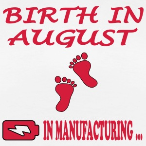 Birth in august T-shirts - Premium-T-shirt dam