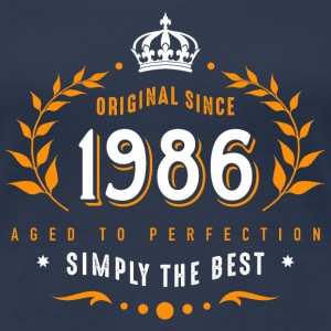 original since 1986 simply the best 30th birthday - Frauen Premium T-Shirt