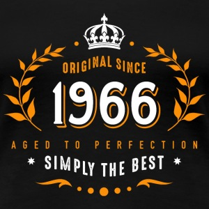 original since 1966 simply the best 50th birthday - Frauen Premium T-Shirt