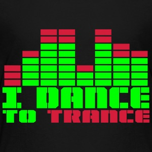 DANCE TO TRANCE Shirts - Teenage Premium T-Shirt