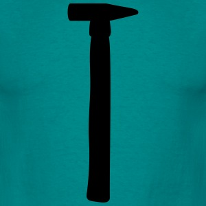 black hammer hammer nail knock knock to nail nails T-Shirts - Men's T-Shirt