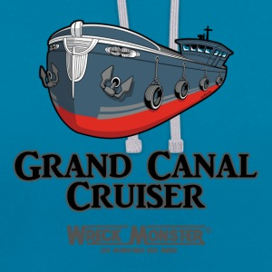 GRAND CANAL 1 - Sweat-shirt contraste