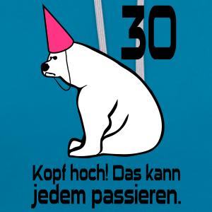 """Geburtstag T-Shirts mit """"30 Geburtstag Kopf hoch"""""""