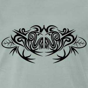 Tribal Frosch, frog, tattoo T-Shirts - Men's Premium T-Shirt