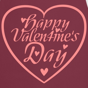 Happy Valentine's Day Heart  Aprons - Cooking Apron