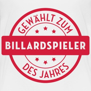 Billard Billiard Billardspieler Billardspielerin T-Shirts - Teenager Premium T-Shirt