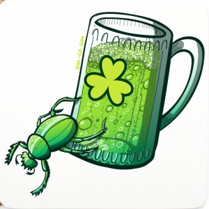 saint patricks day - Coasters (set of 4)